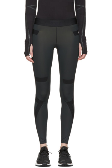 Y-3 SPORT - Black TechFit Long Tights