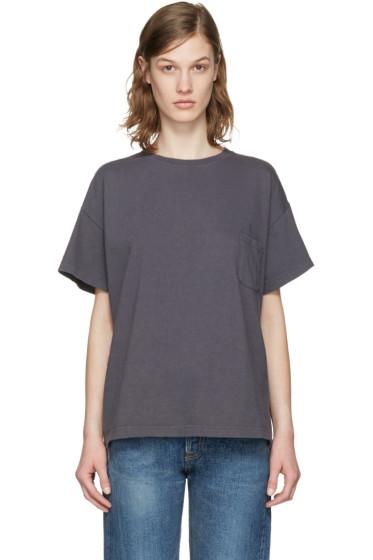 Chimala - Grey Pocket T-Shirt