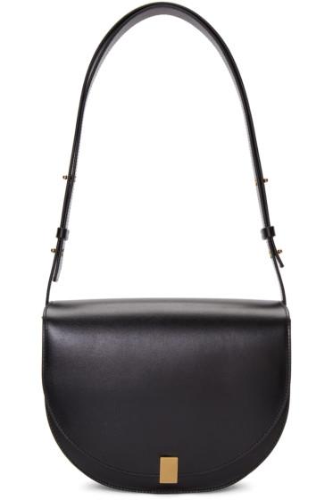 Victoria Beckham - Black Half Moon Box Bag