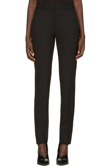 Victoria Beckham - Black Wool Slim Trousers