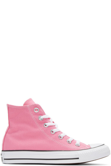 Converse - Pink Classic Chuck Taylor All Star OX High-Top Sneakers