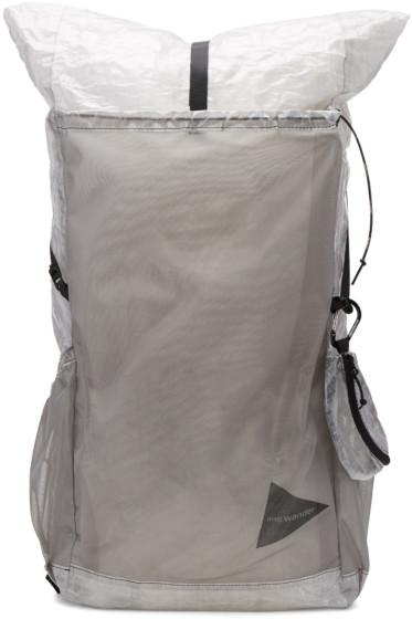 and Wander - White Cuben Fiber Backpack