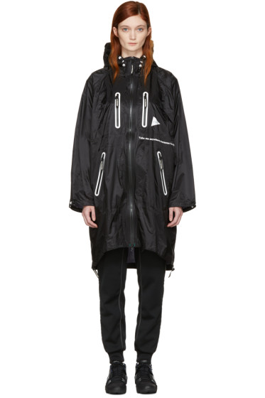and Wander - Black Fly Coat