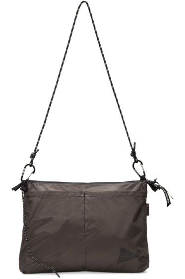 and Wander - Grey Sil Sacoche Pouch
