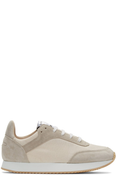 Spalwart - Beige Tempo Sneakers