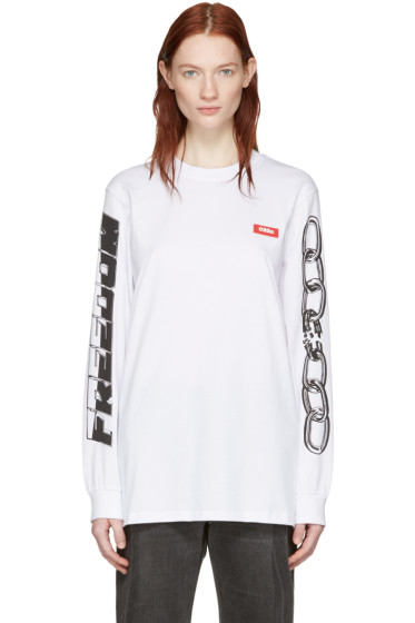 032c - White Chains Graphic T-Shirt
