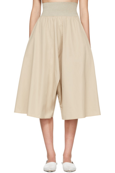 Bless - Beige Long Culottes