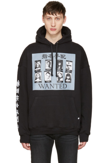 Richardson - Black 'Wanted' Hoodie