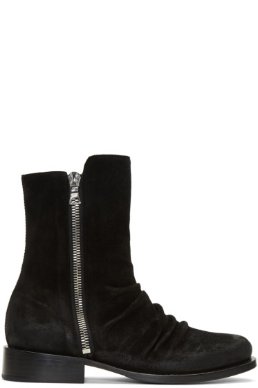 Amiri - Black Stack Boots