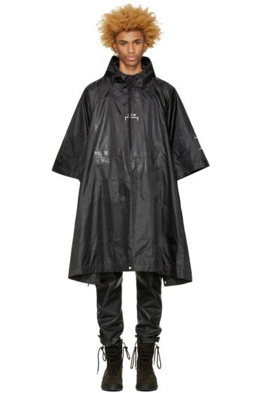 A-Cold-Wall* - Black Nylon Poncho