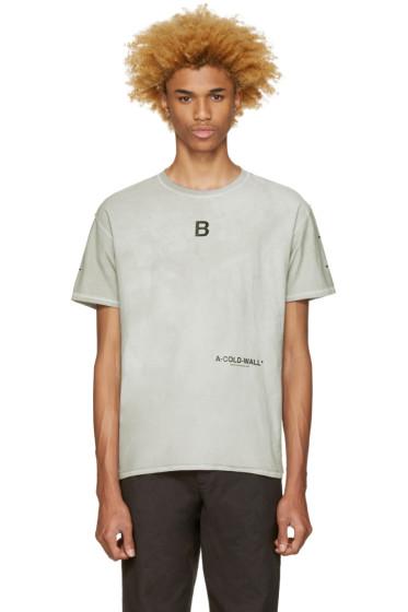 A-Cold-Wall* - Grey Signature T-Shirt