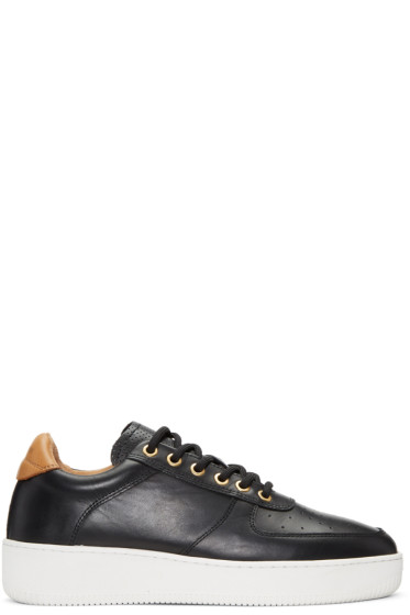 Aime Leon Dore - Black Leather Sneakers