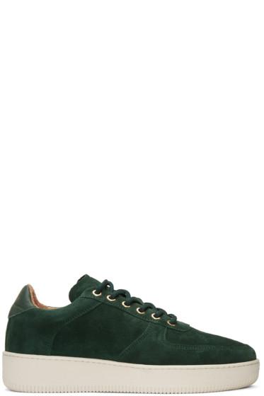 Aime Leon Dore - SSENSE Exclusive Green Suede Sneakers