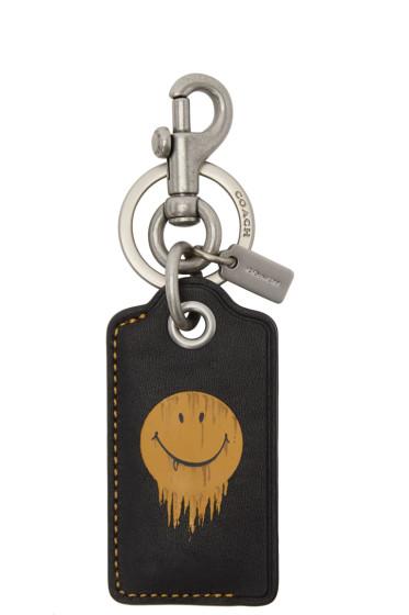 Coach 1941 - Black Baseman Edition Gnarly Face Keychain