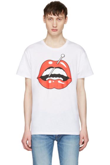 Herman - White Lips T-Shirt