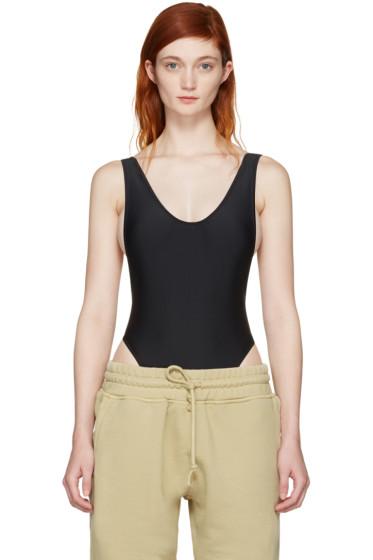YEEZY - Black Basic One-Piece Swimsuit
