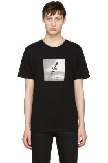 Resort Corps - Black VHS Rose T-Shirt
