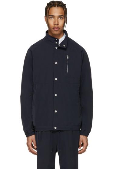 nonnative - Navy Coach Jacket