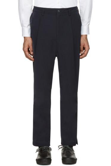 nonnative - Navy Clerk Trousers