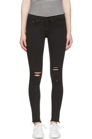 Rag & Bone - Black Legging Jeans