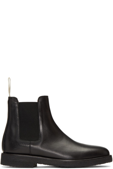 Woman by Common Projects - Black Chelsea Boots