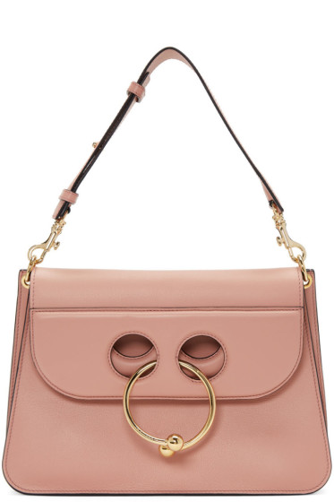 J.W. Anderson - Pink Medium Pierce Bag