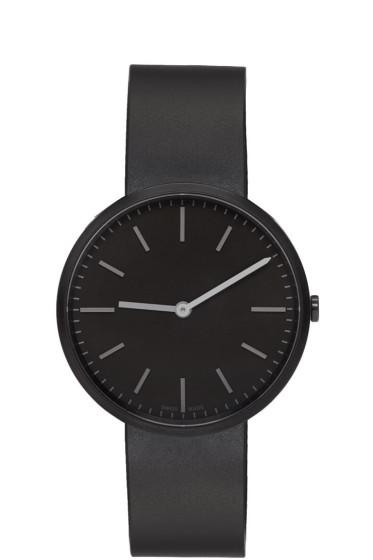 Uniform Wares - Black Rubber M37 Watch