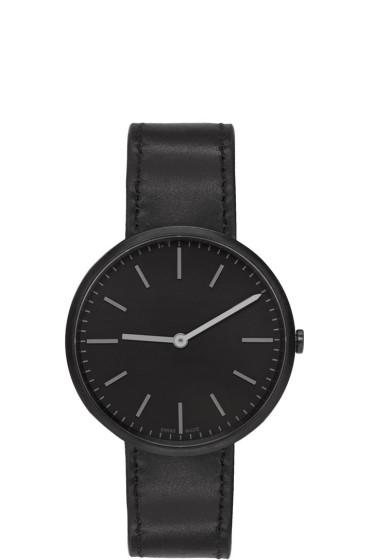 Uniform Wares - Black Leather M37 Watch