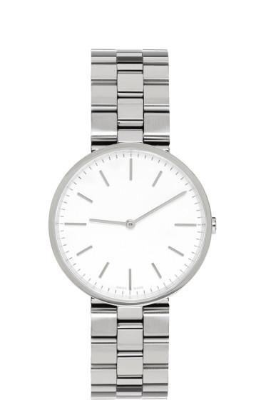 Uniform Wares - Silver Linked M37 Watch