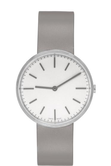 Uniform Wares - Silver & Grey Brushed M37 Watch