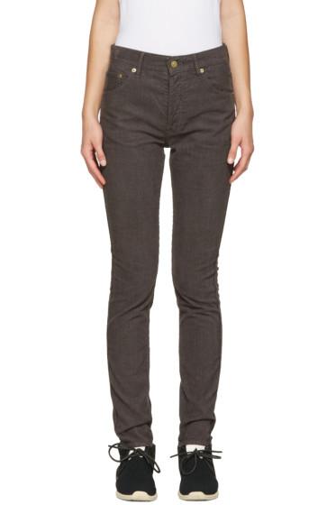 Visvim - Brown Corduroy Fluxus Slub Trousers