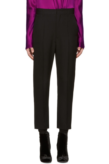 Haider Ackermann - Black Wool Orbai Trousers