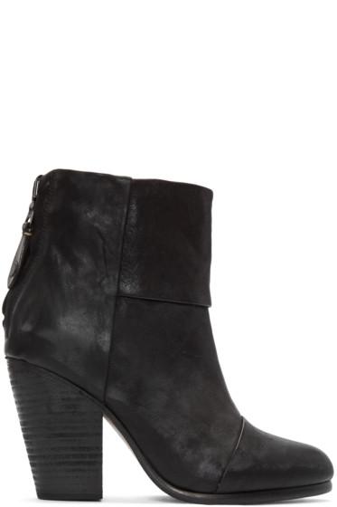 Rag & Bone - Black Classic Newbury Boots