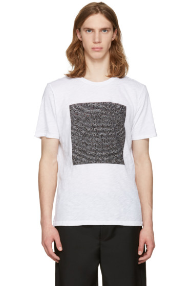Rag & Bone - White Code T-Shirt