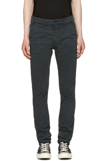 Nudie Jeans - Black Slim Adam Trousers