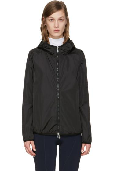 Moncler - ブラック バイブ フード ジャケット
