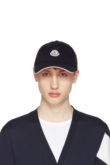 Moncler - Navy Logo Baseball Cap