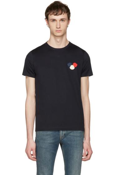 Moncler - Navy Maglia T-Shirt
