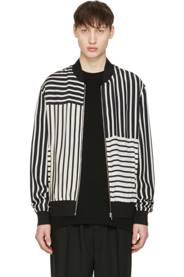McQ Alexander McQueen - Off-White Summer MA-1 Jacket