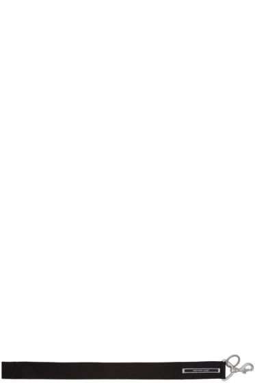 Rick Owens Drkshdw - Black 'Selfish Cunt' Keychain