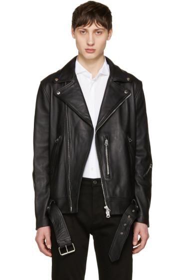 Acne Studios - Black Nate Leather Jacket