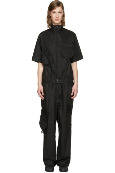 Y-3 - Black X Military Jumpsuit