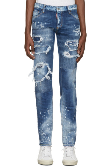 Dsquared2 - Blue Slim Jeans