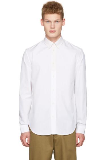 Maison Margiela - White Contrast Collar Shirt