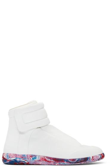 Maison Margiela - White Future High-Top Sneakers