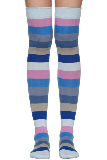 Marc Jacobs - Blue Striped Socks