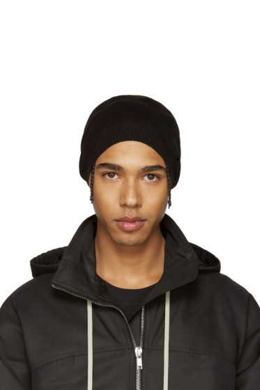 Rick Owens - Black Medium Beanie