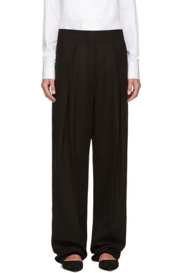 Jil Sander - Black Pleated Trousers