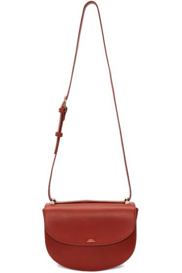 A.P.C. - Brown Genève Bag