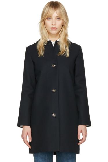 A.P.C. - Navy Poupée Coat
